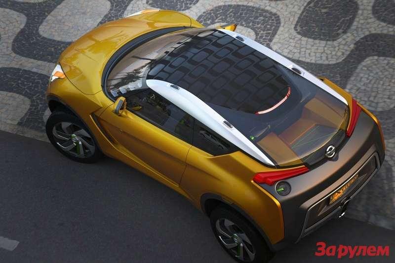 Nissan Extrem Concept top view