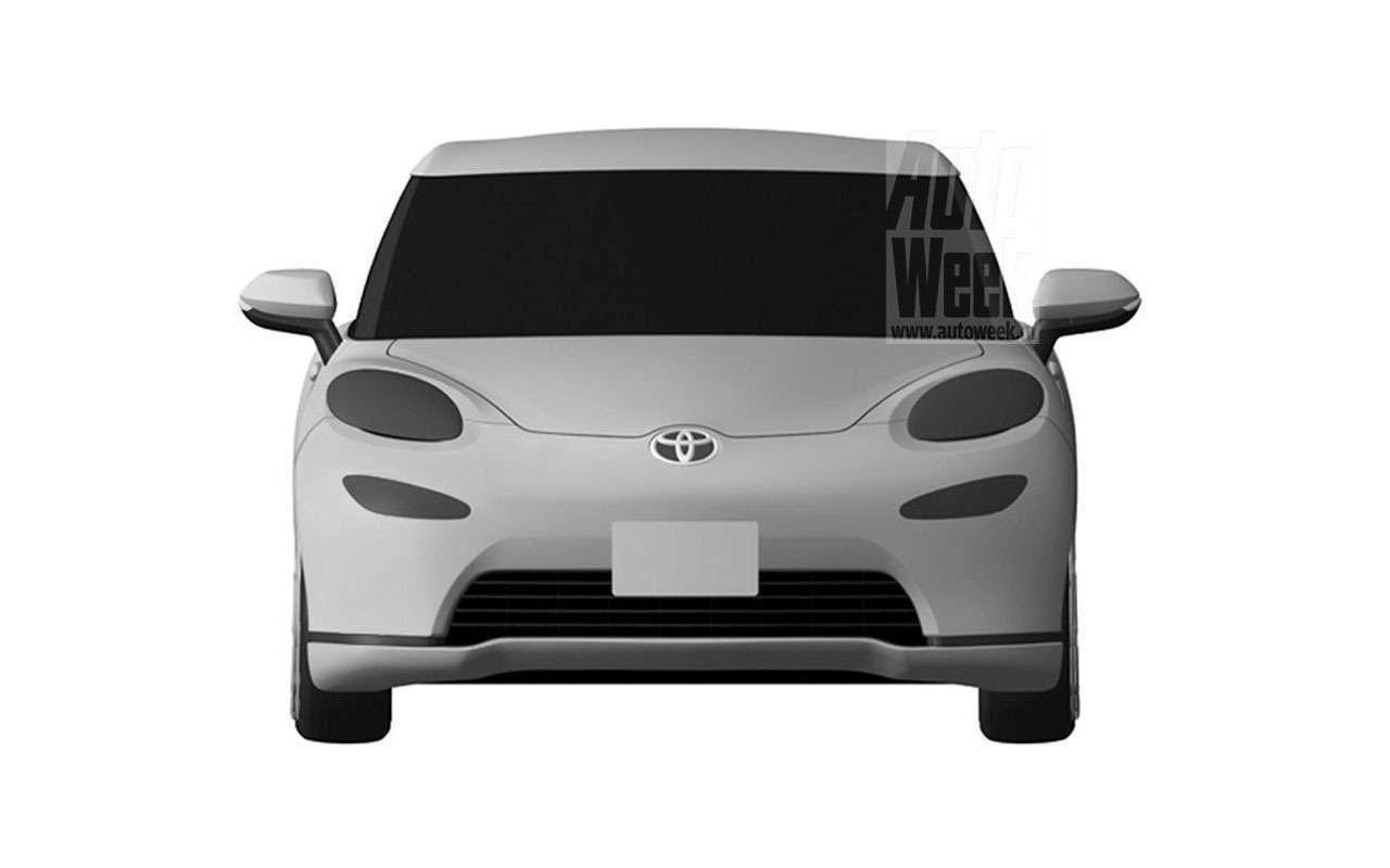 Toyota патентует новый спорткар— фото 965714