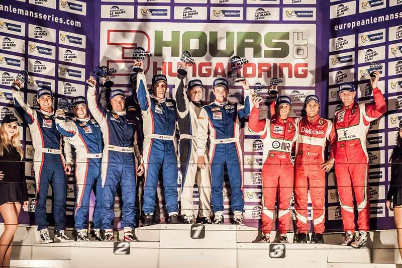 ELMS podium no copyright