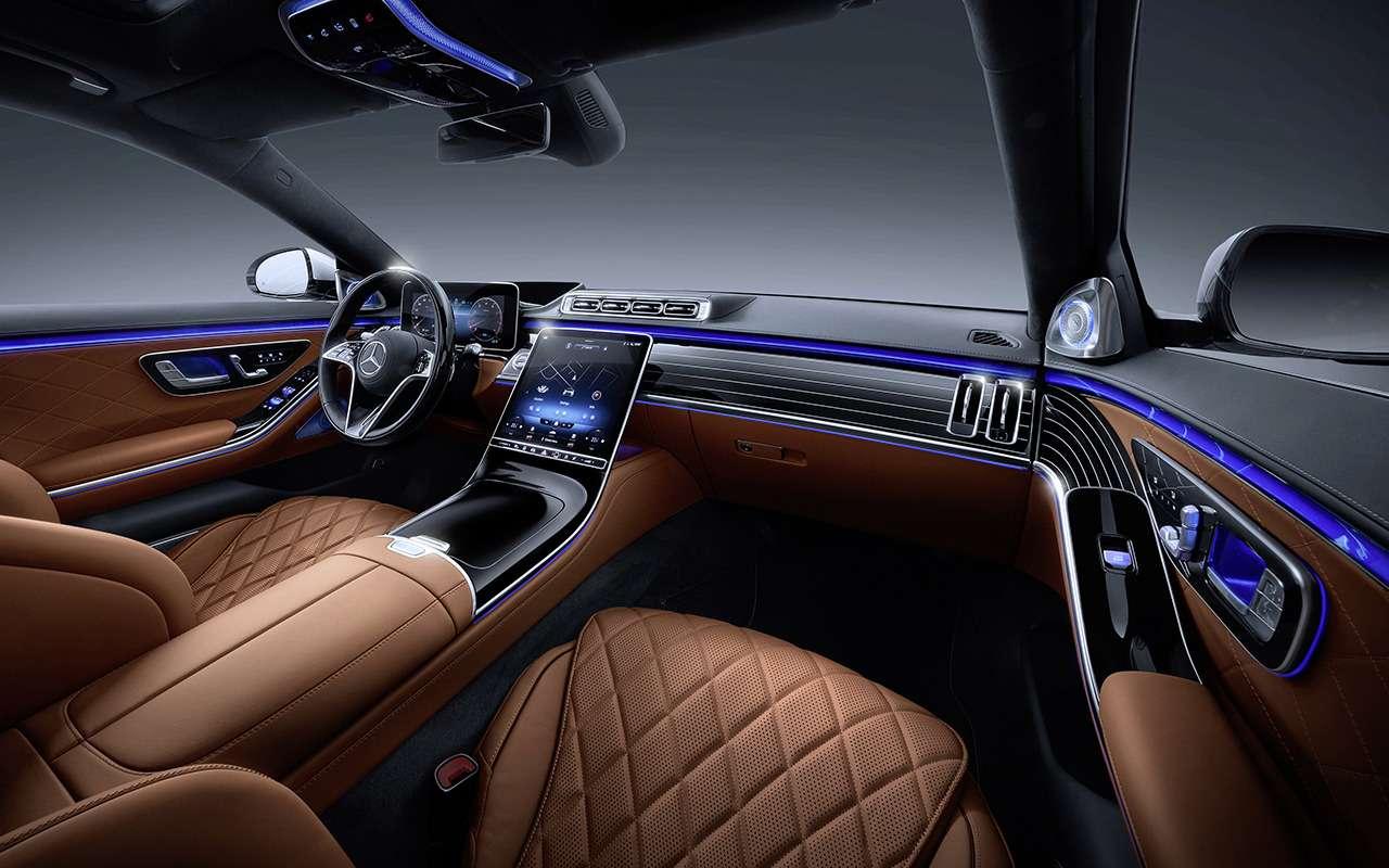 Новый Mercedes-Benz S-Класса наведет порядок дома— фото 1164314