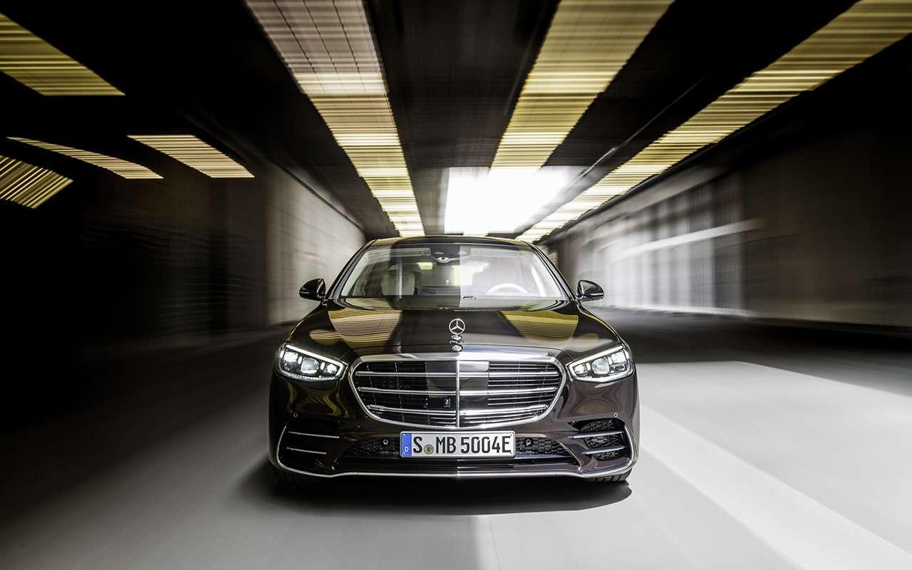 Новый Mercedes-Benz S-Класса наведет порядок дома— фото 1164319