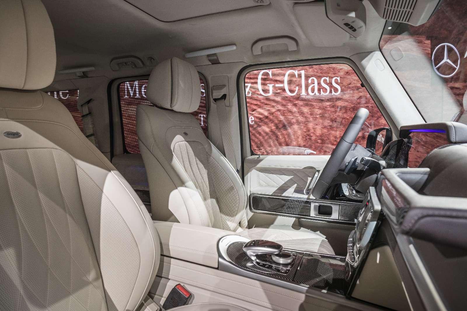 Длинный нос: новый Mercedes-Benz G-класса представлен официально— фото 835959
