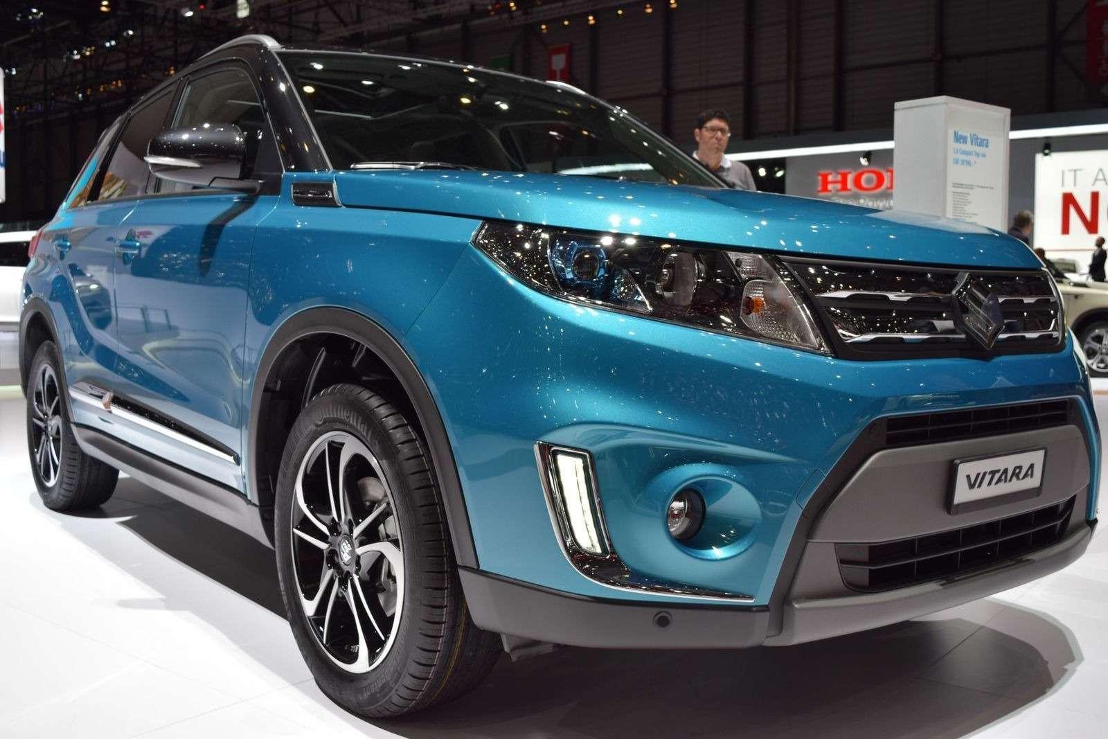 Suzuki предложит новую Vitara вРФпоцене менее 1млн руб.— фото 368907
