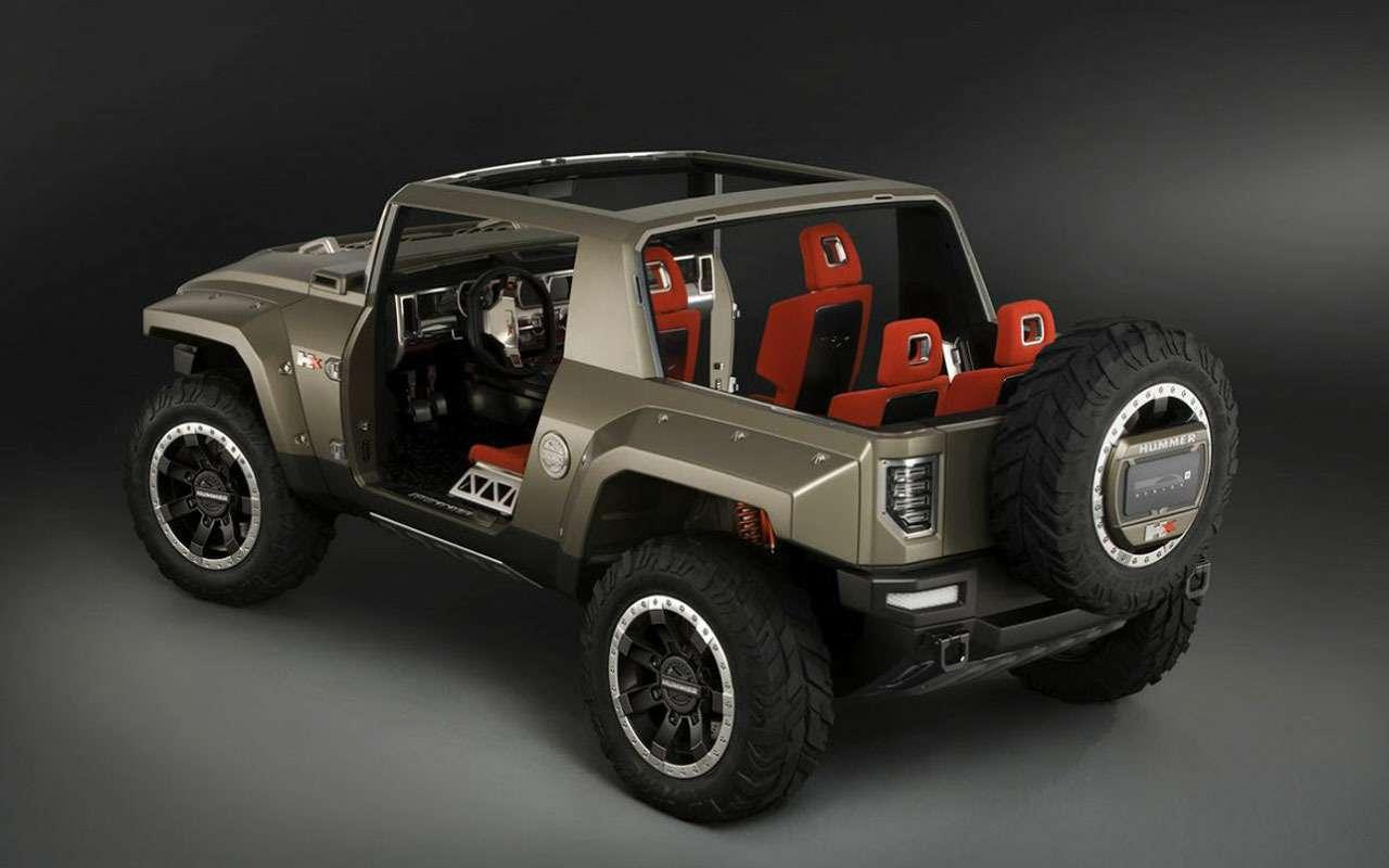 Hummer вернется? GMразрабатывает конкурента Jeep Wrangler— фото 978015