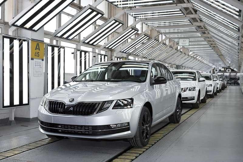 В Российской Федерации запустили производство новоиспеченной Шкода Octavia