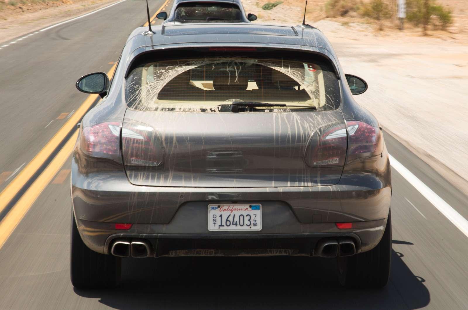 Предсерийный Porsche Macan