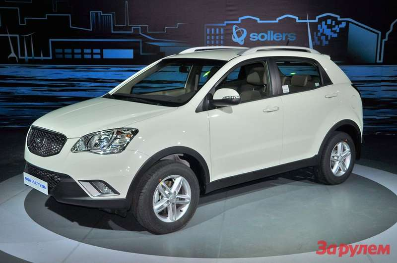 SsangYong New Action
