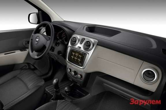 Dacia Lodgy inside