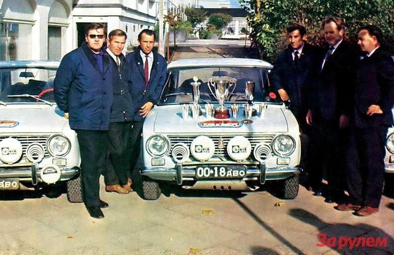 Дебют ВАЗ-2101на ралли «Тур Европы» 1971 года оказался удачным.