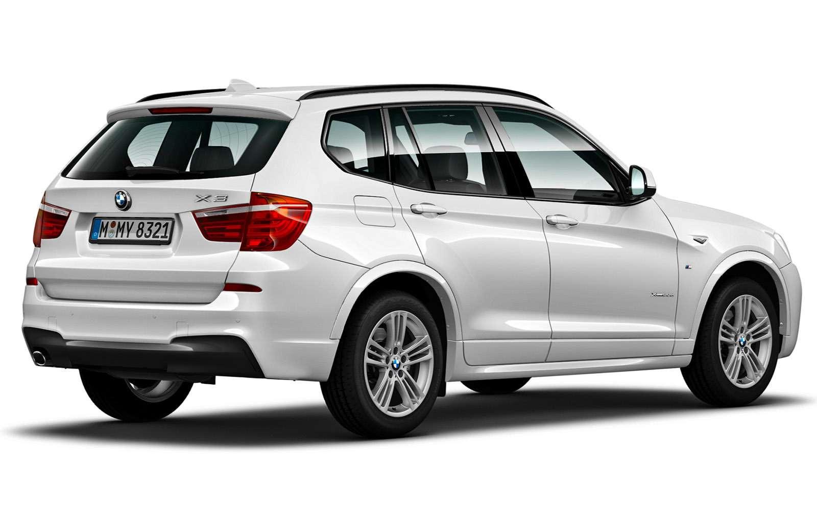 BMWX3второго поколения— список возможных проблем— фото 771807
