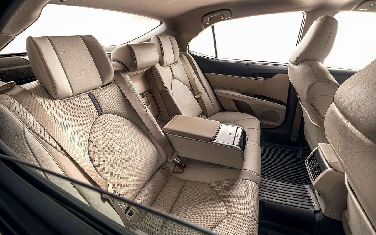 Toyota Camry 2021: все ееизменения— фото 1252874