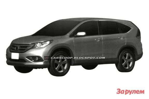 New Honda CR-V side-front view