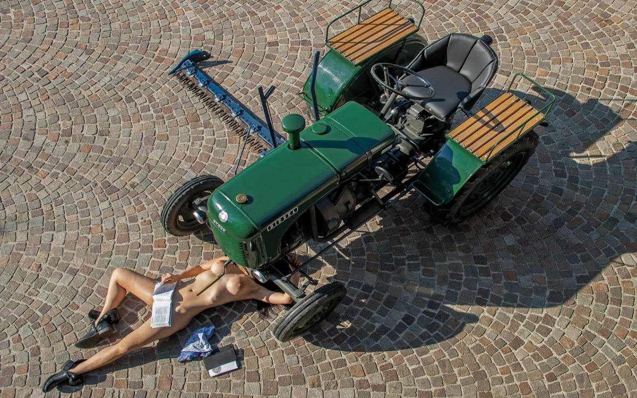 Новый календарь длялюбителей тракторов (инетолько)— фото 945282