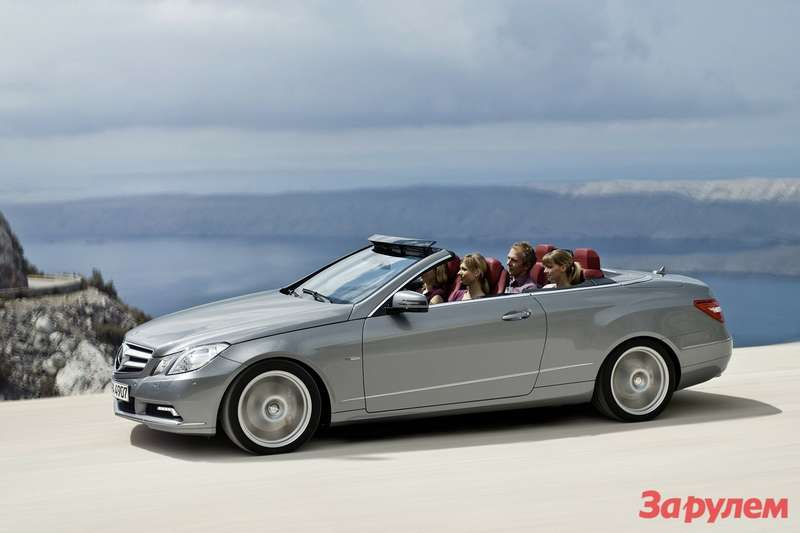 Mercedes-Benz E-Class Cabriolet side view