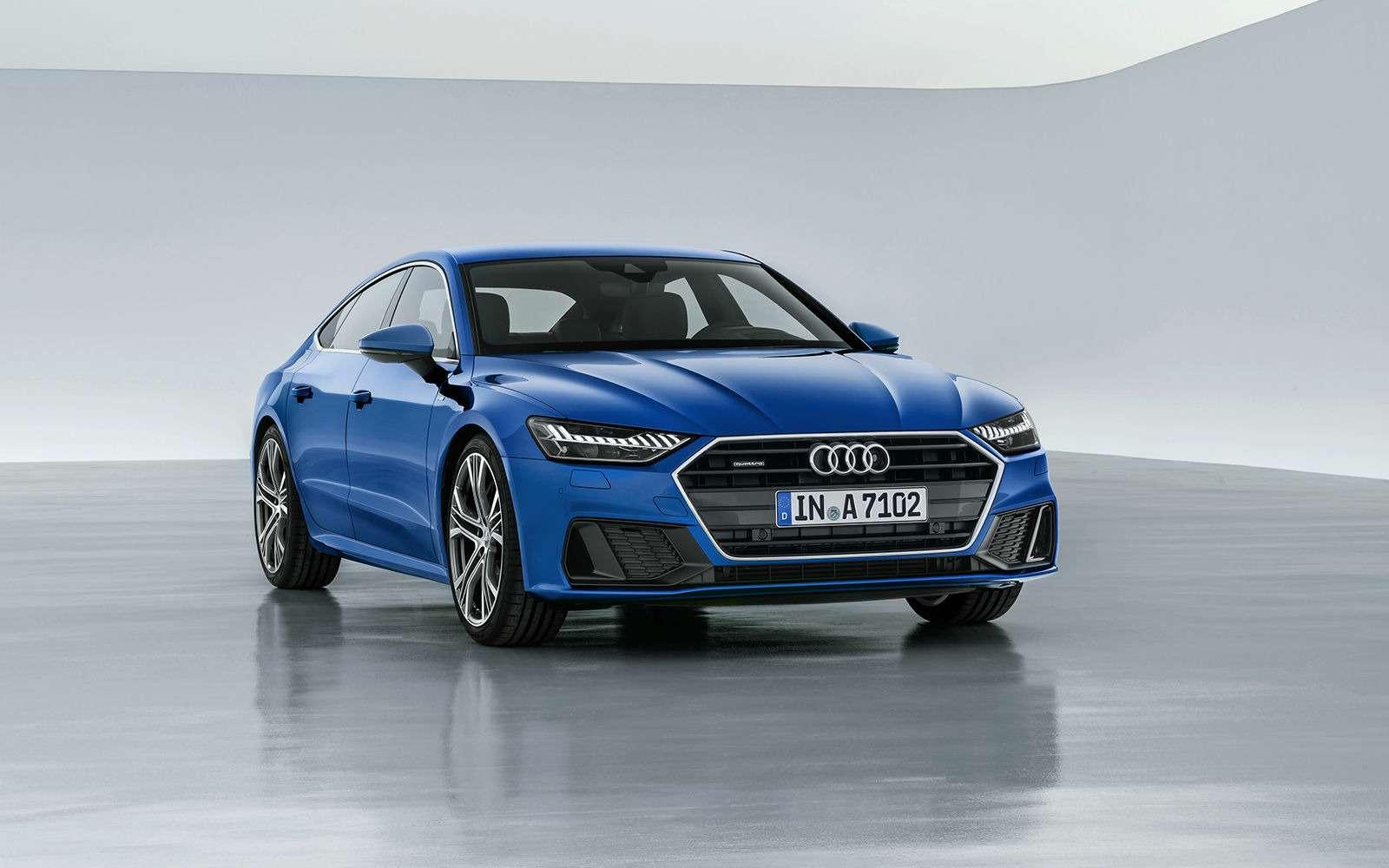 Новая Audi A7Sportback— вся насенсорах— фото 807137