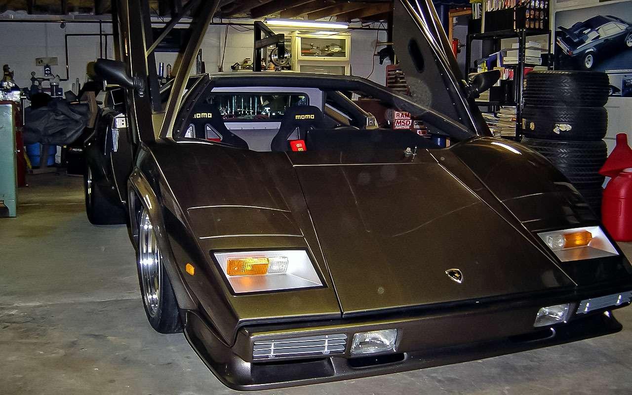 Реплика Lamborghini Countach Кена Имхоффа изМилуоки