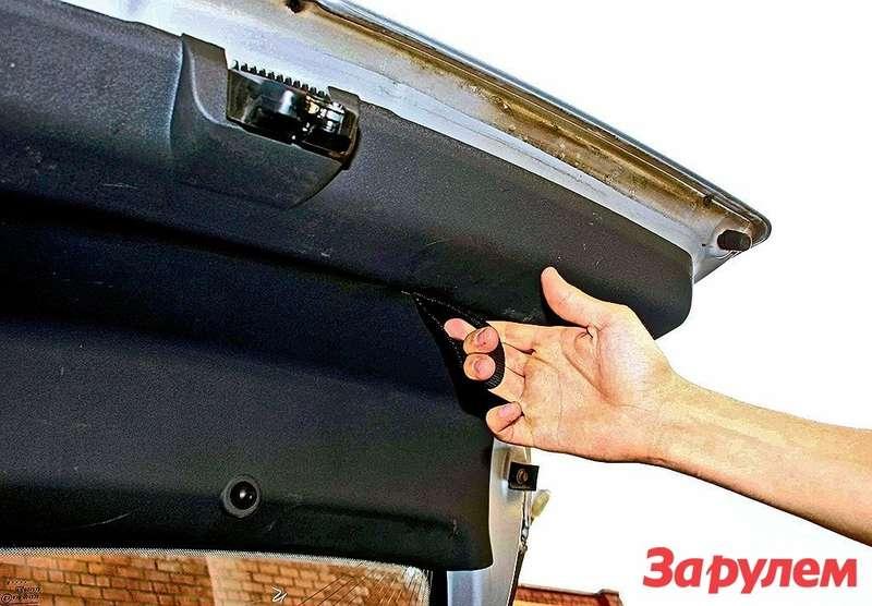 Простенькая петля— полноценная замена ручке пятой двери.