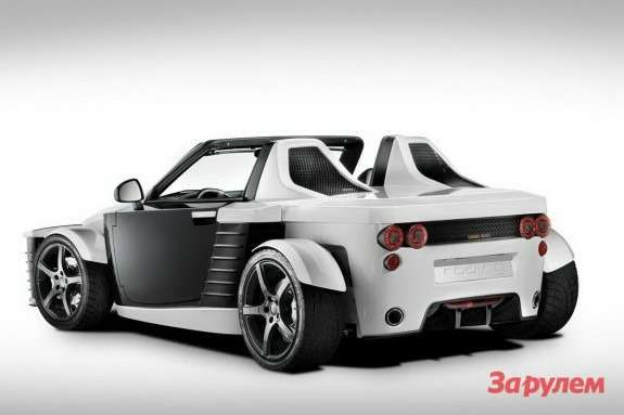 Roding Roadster Concept side-rear view