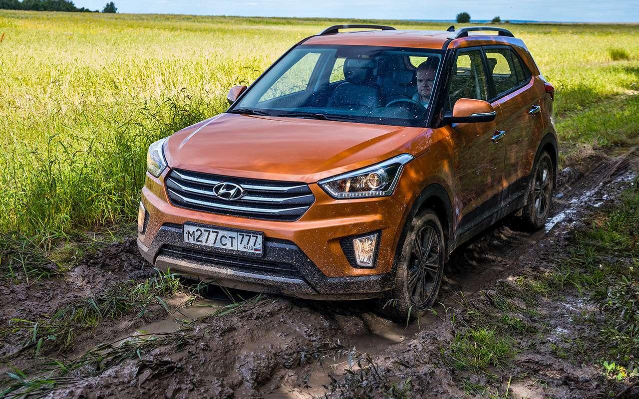 Hyundai Creta или Renault Koleos: чей полный привод круче? Часть 1— фото 825635