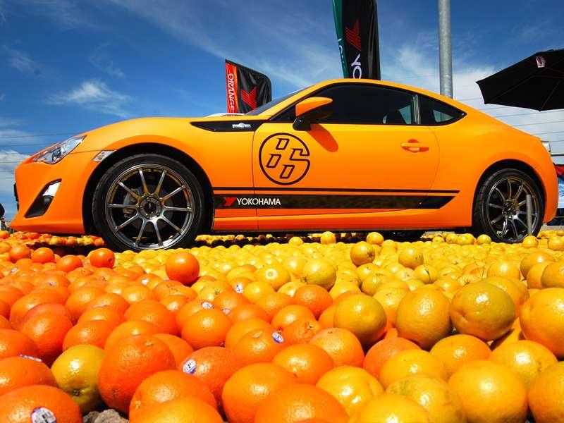 Шины будущего: бьют током, пахнут апельсинами, светятся золотом