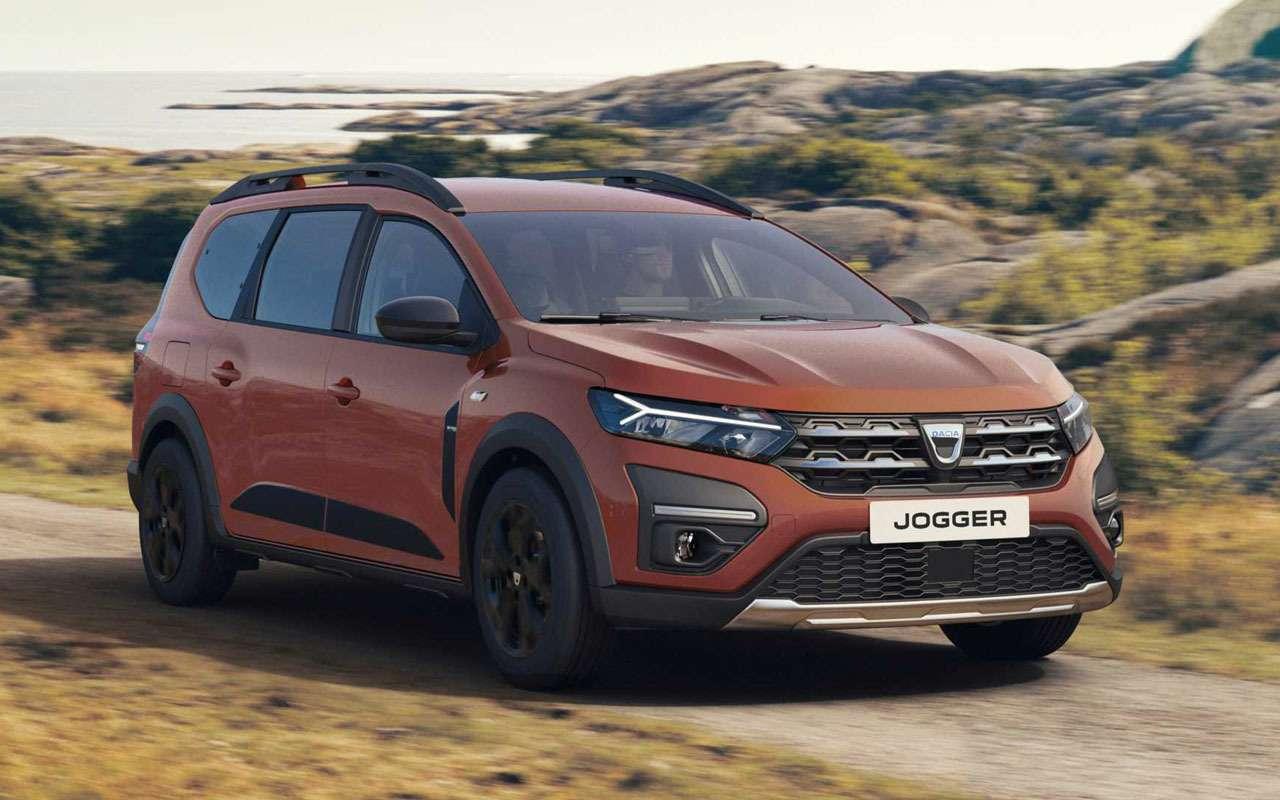 Dacia Jogger— новые подробности обудущем Ларгусе— фото 1275599