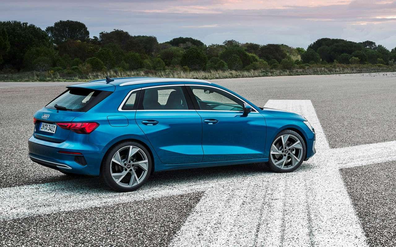 Новый Audi A3появится уже вэтом году— фото 1101052