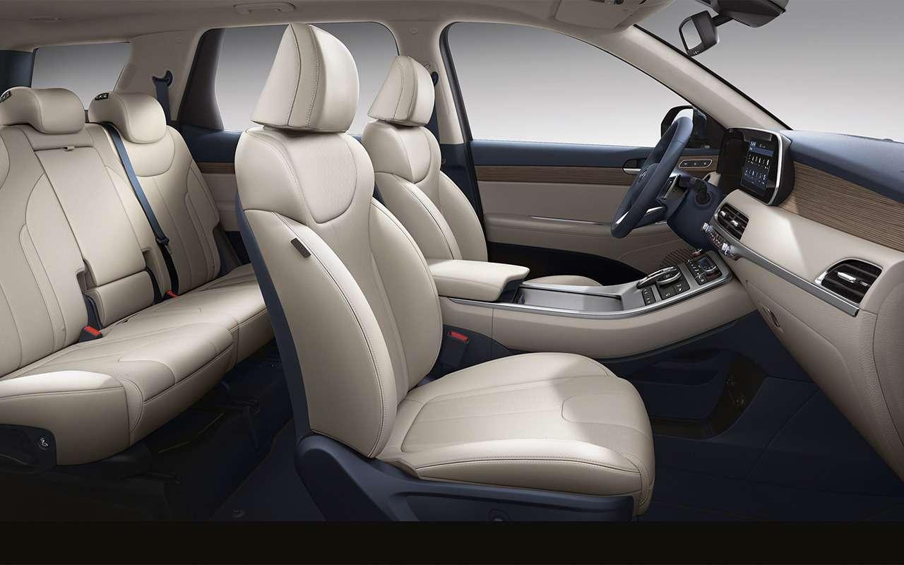 Hyundai Palisade: 3плюса, 2прокола имного места длядетей— фото 1221231