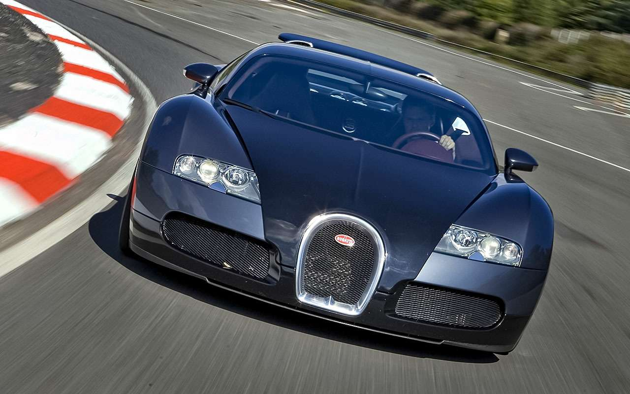 Bugatti Veyron, 2011год