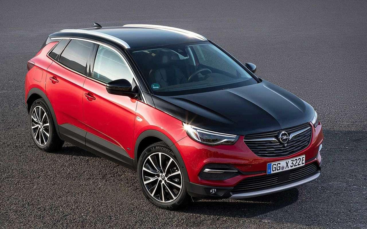 Opel начал продажи Zafira Life иGrandland X— цены известны— фото 1026034