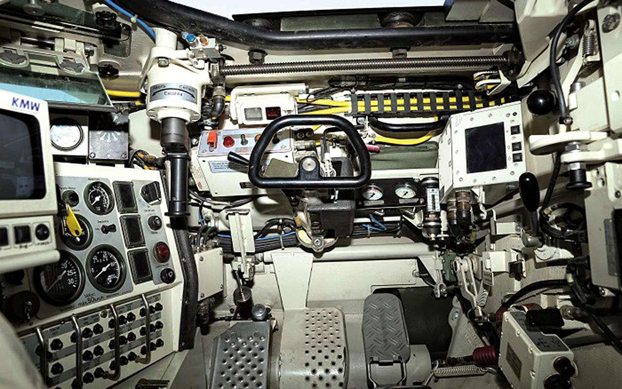 НашТ-72Б3 против немецкого Леопарда-2: пришельцы изпрошлого— фото 864027