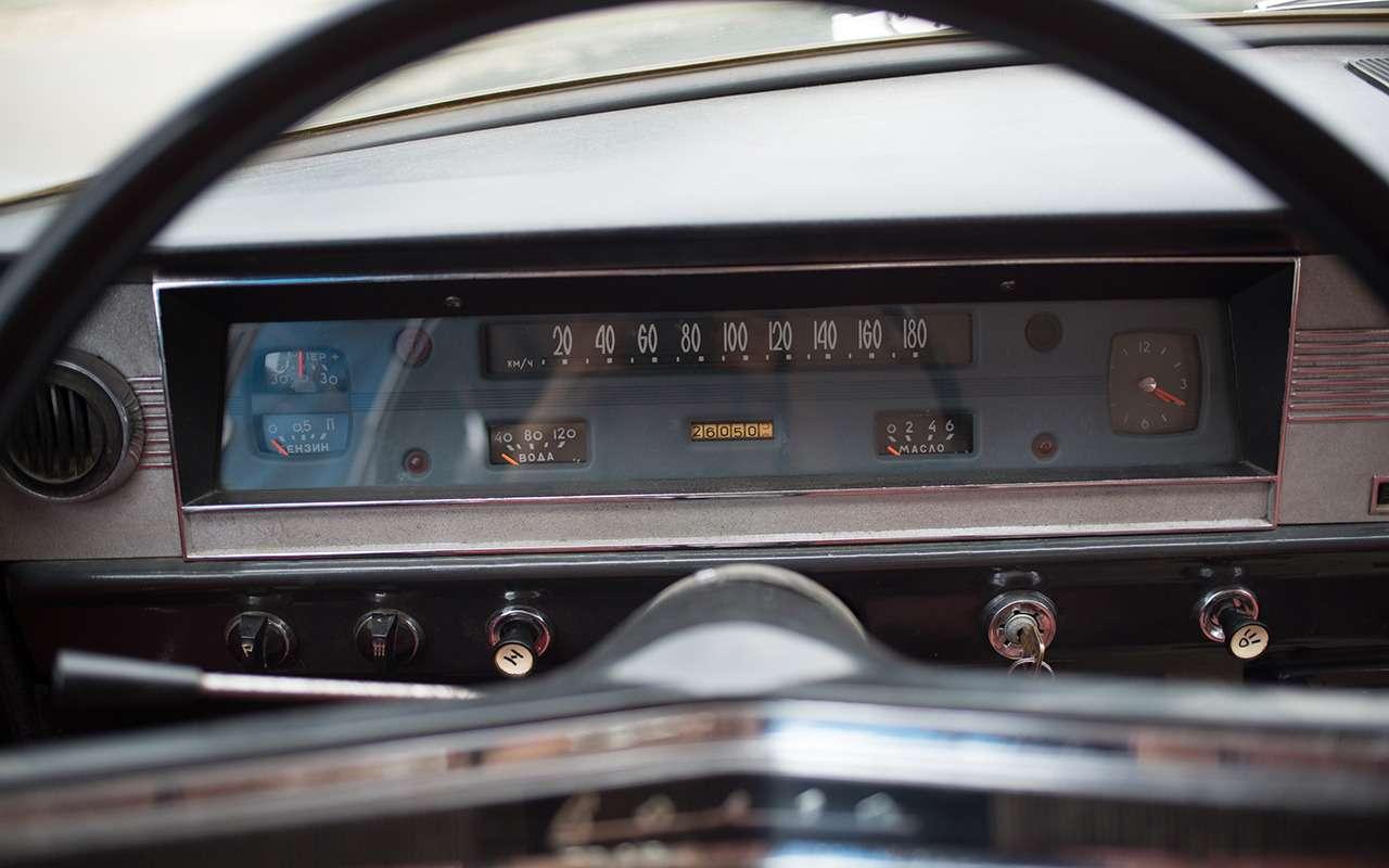 «Кривой» руль, 6-местный салон, адская цена...— невероятные факты оГАЗ-24— фото 1081867