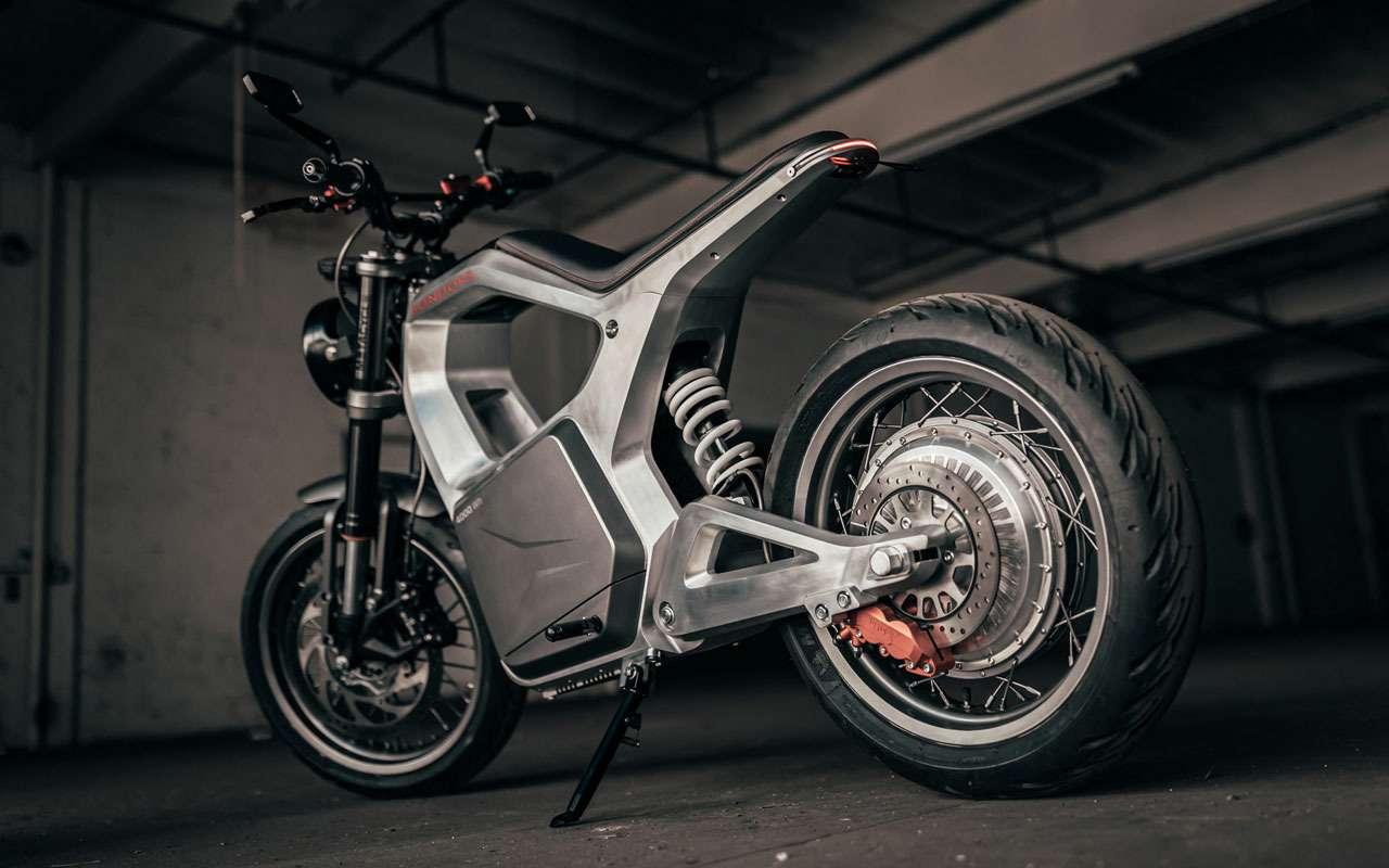 Sondors Metacycle— необычный мотоцикл длягорода— фото 1217056