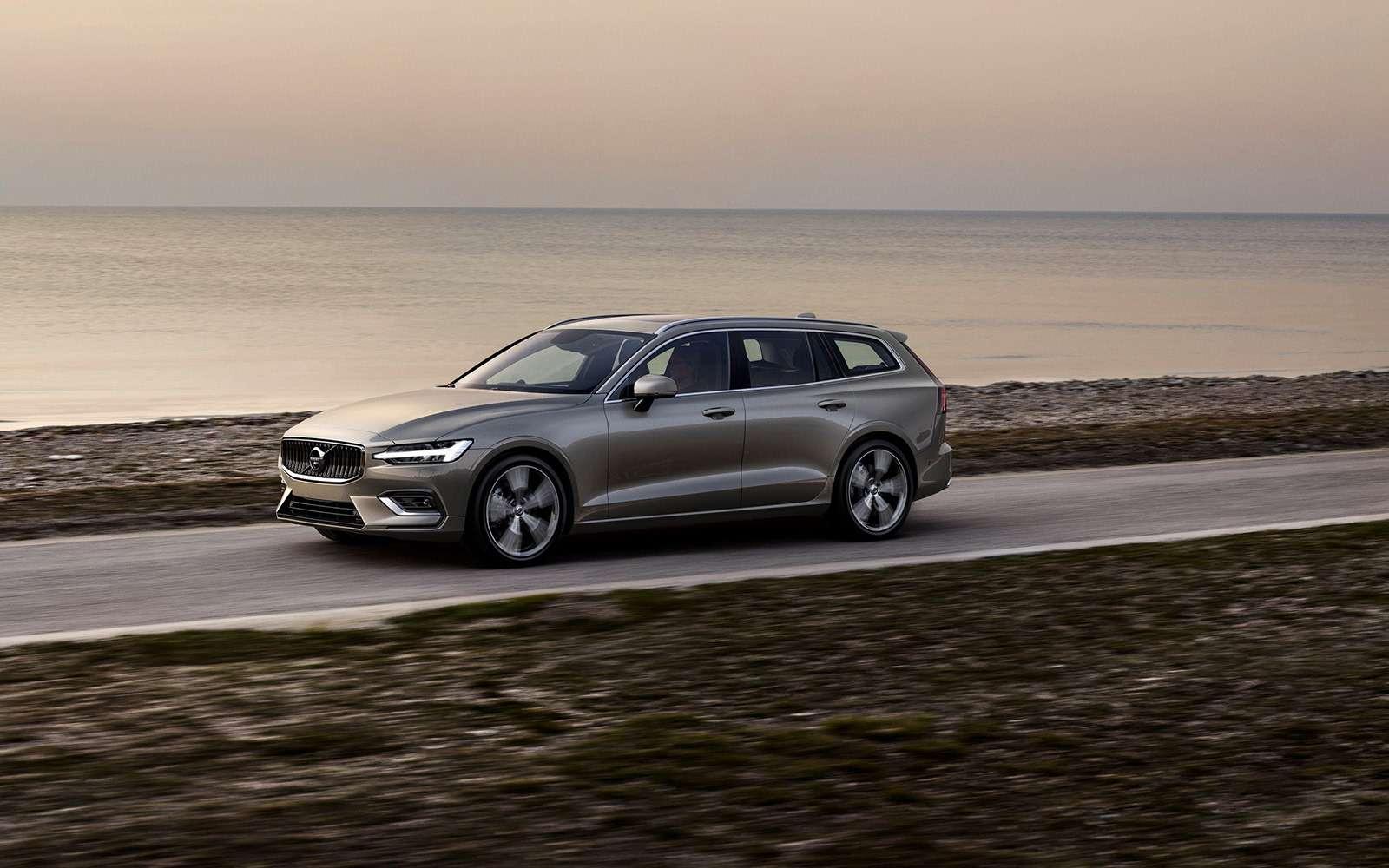 Volvo представила V60: семейный, роскошный инедлянас— фото 847555