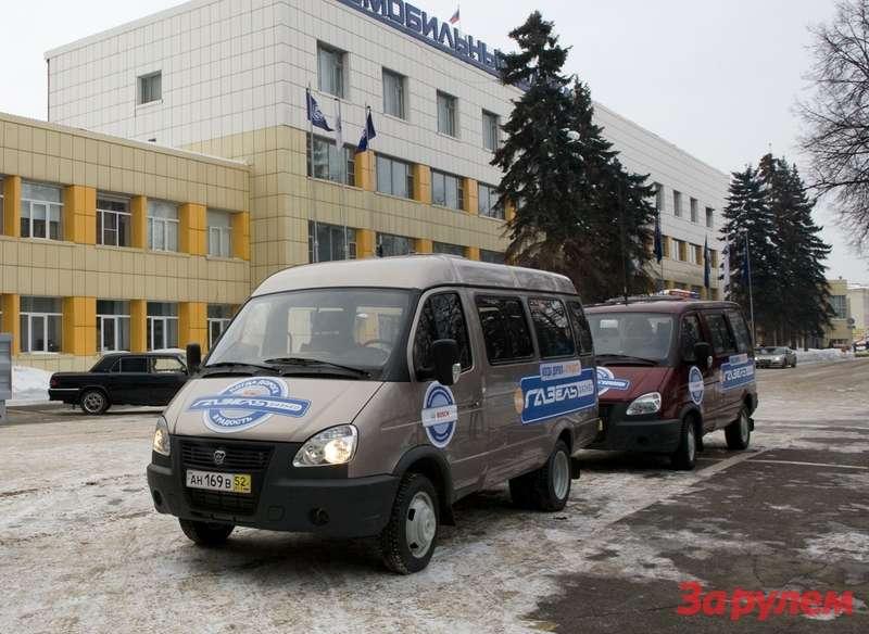 """""""Газель-Бизнес"""" (ГАЗ 3221), микроавтобус, количество мест - 8+1"""