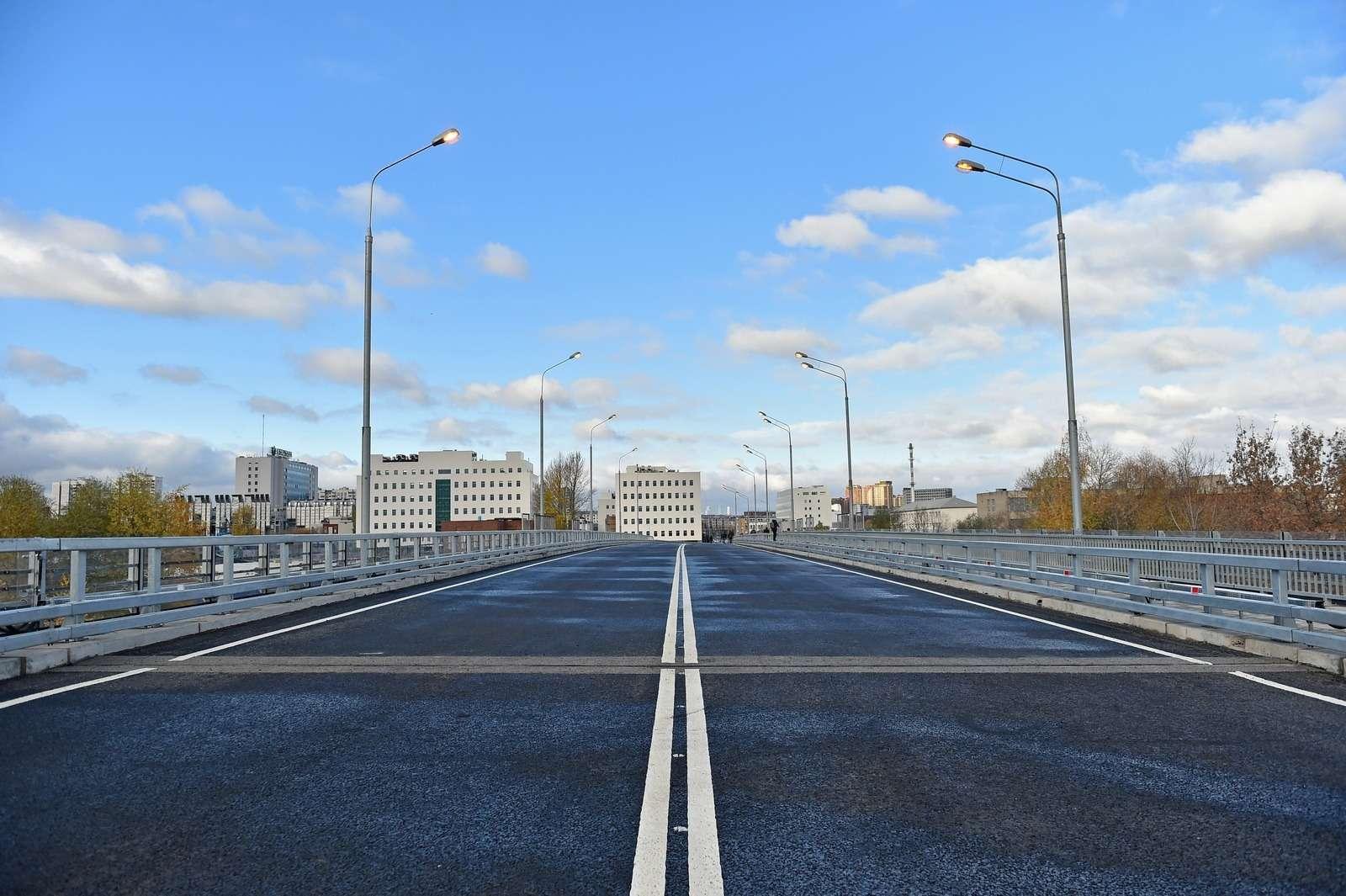 Открыли новый путепровод наюго-востоке Москвы кПечатникам— фото 808108