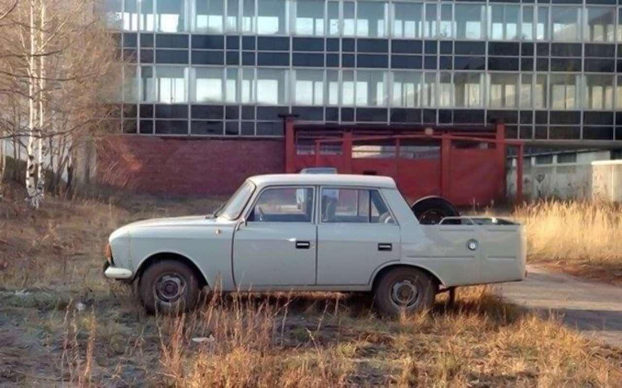 Уникальные версии Москвича-412: пикапы, спорткупе, хэтчбеки— фото 1053249
