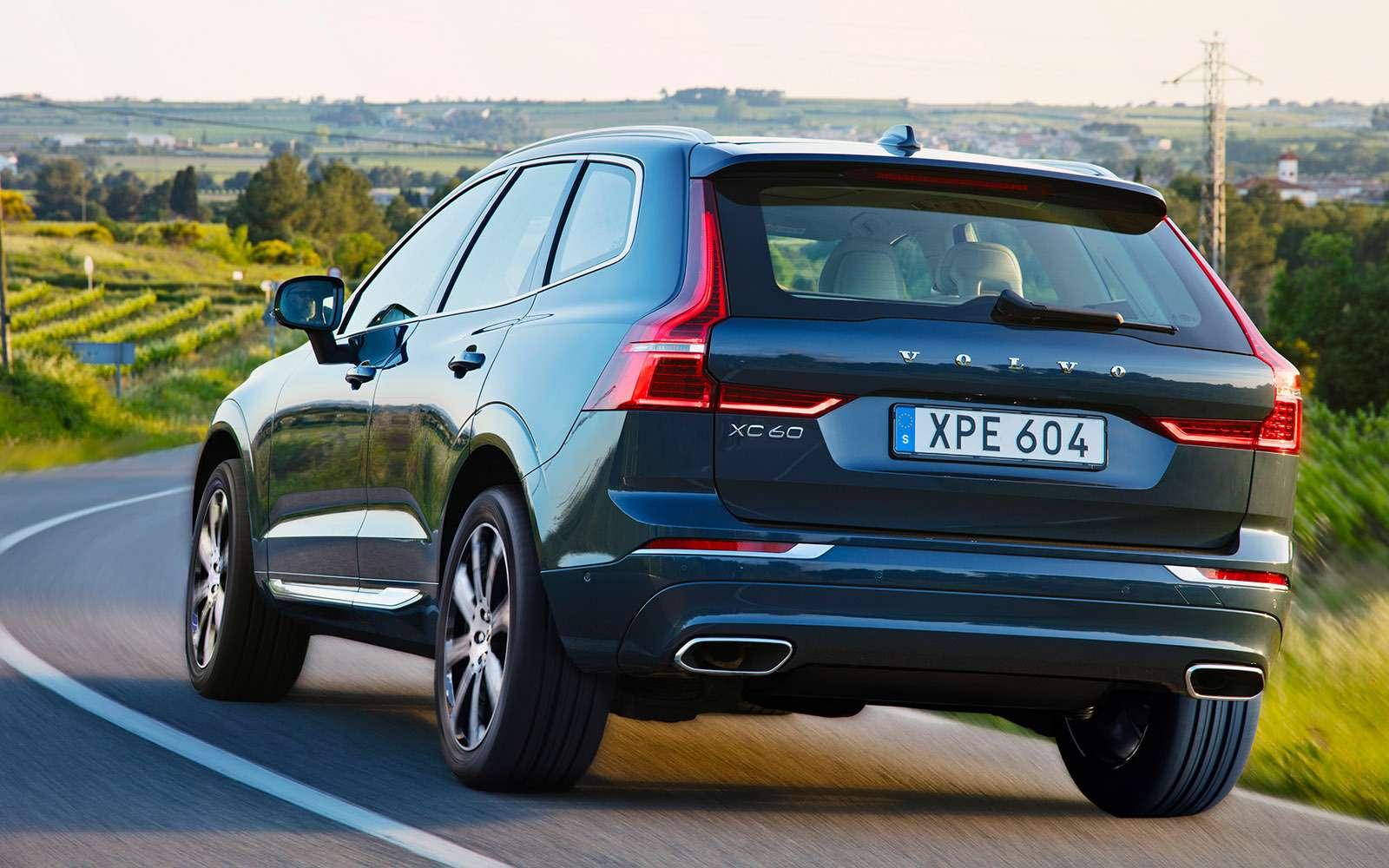 Новый Volvo XC60— первый тест-драйв— фото 780889