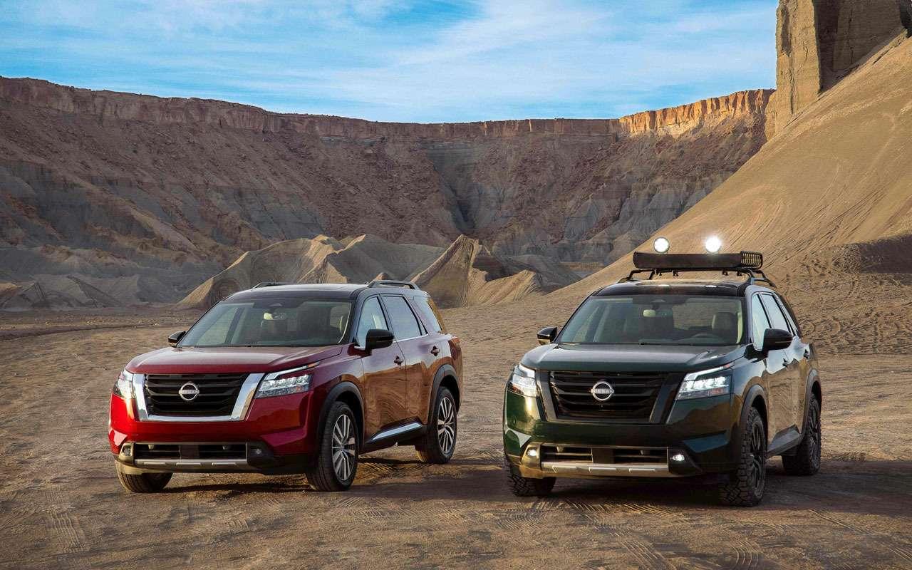 Новый Nissan Pathfinder— скоро вРоссии— фото 1221281