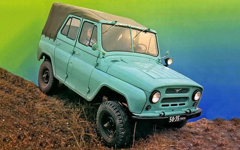 УАЗ-469, 1982год