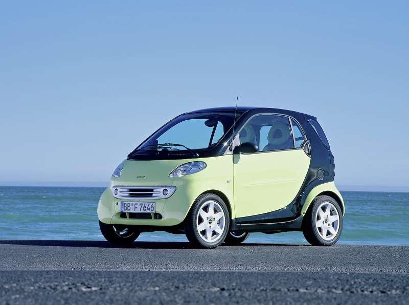 smart fortwo coupé, 2001, erste Generation