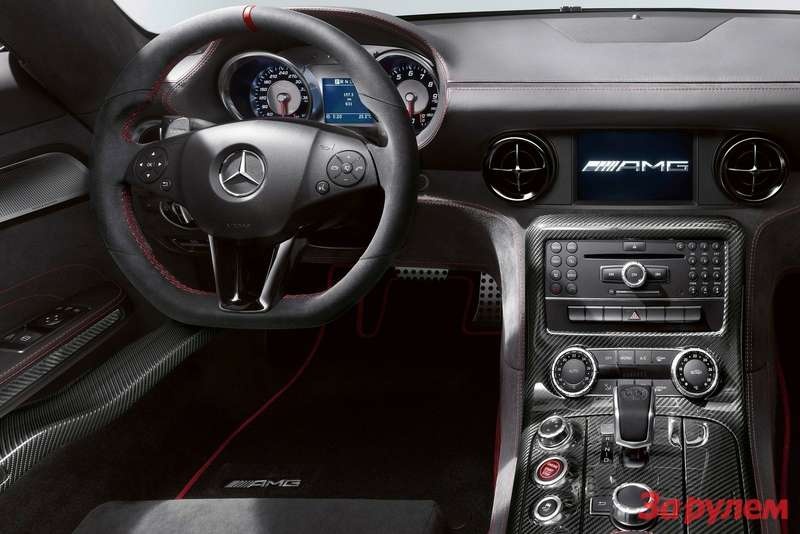 Mercedes-Benz SLS AMG Black Series inside