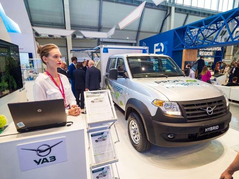 УАЗ продемонстрировал гибридный фургон сдинамикой ирасходом легковушки