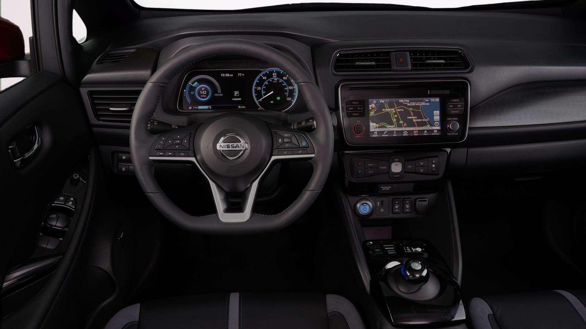 Nissan представил электромобиль дляРоссии— фото 791449