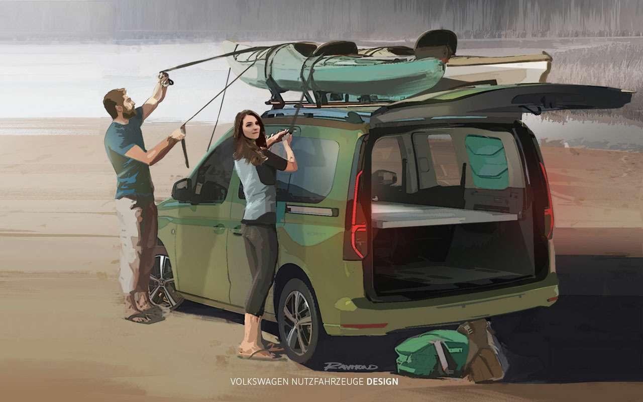 VWсделал мини-кемпер набазе Caddy— фото 1154377