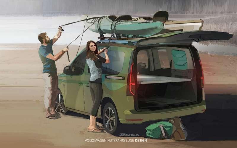 VWсделал мини-кемпер набазе Caddy