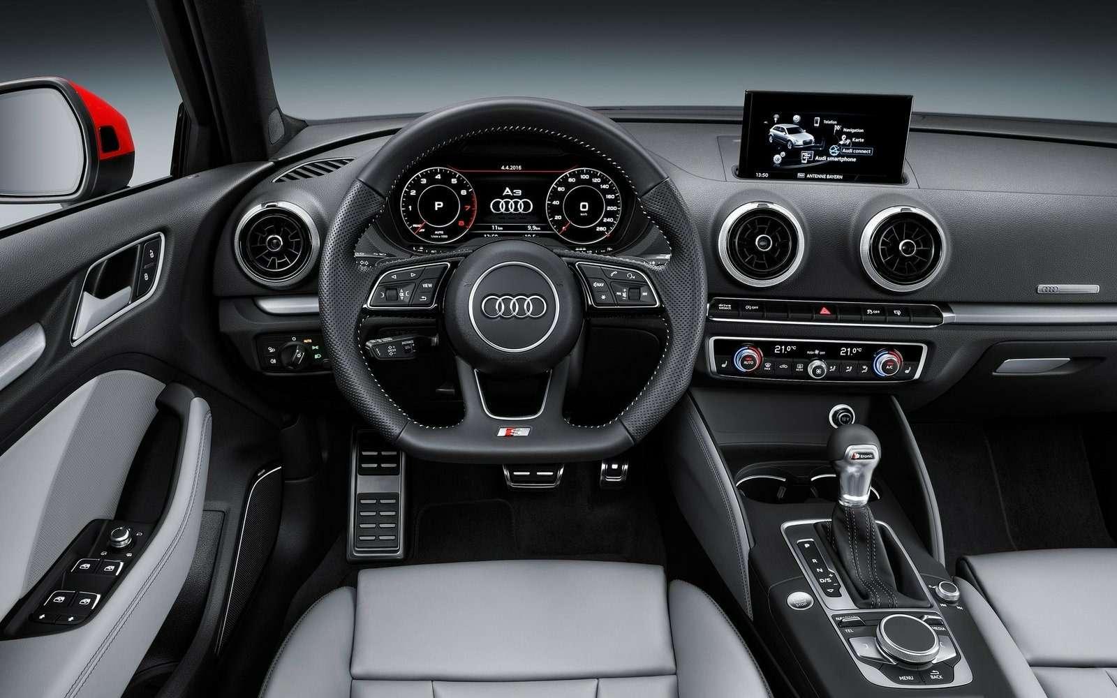 Обновленный Audi A3в России: без трехдверки, кабриолета идизелей— фото 597202