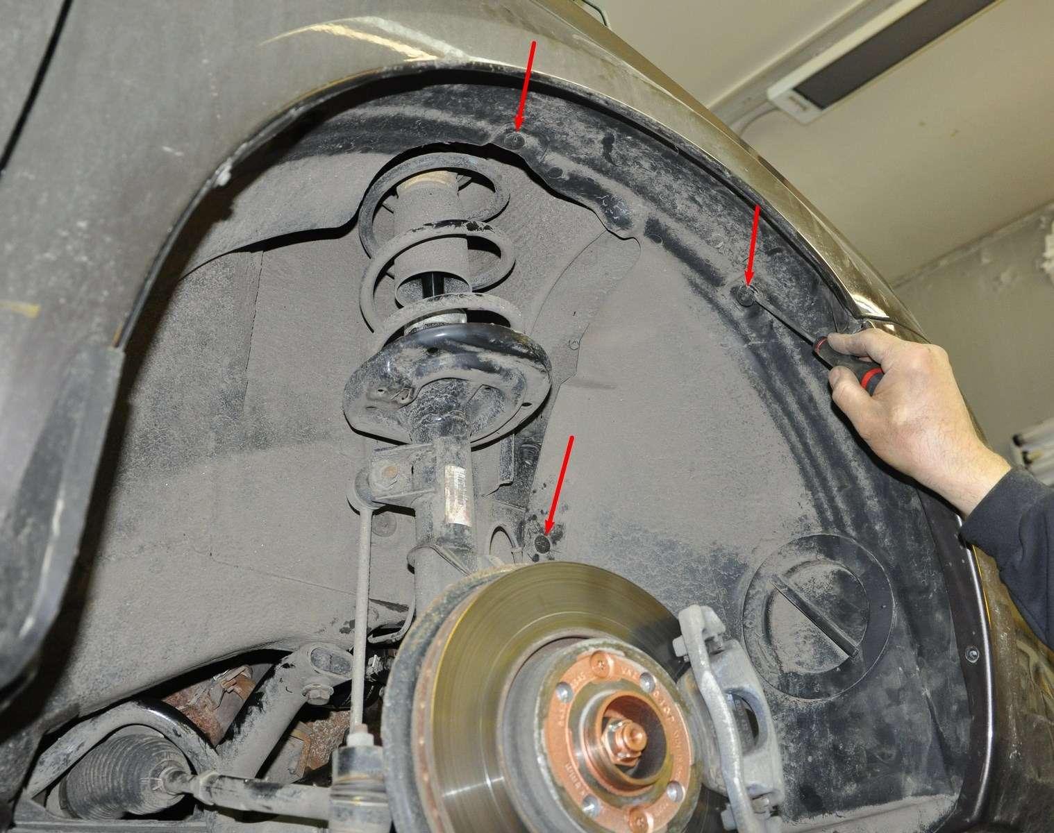 Lada Vesta: проверка изамена ремня привода вспомогательных агрегатов— фото 568589