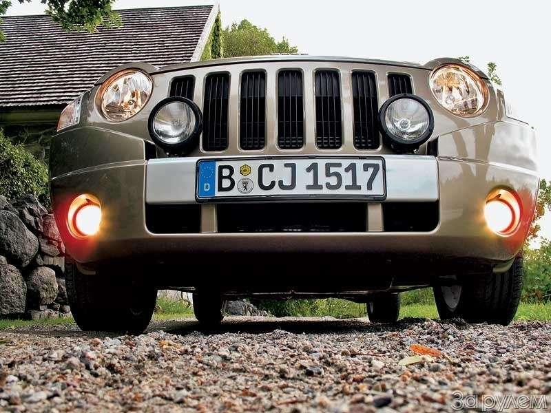 Тест Jeep Compass. МАГНИТНОЕ СКЛОНЕНИЕ— фото 68786