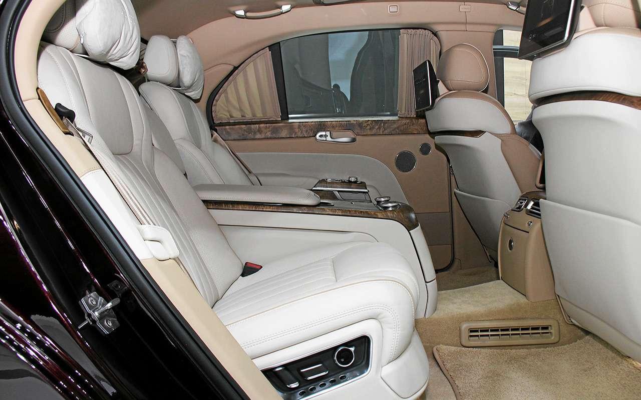 Aurus Senat: заглядываем внутрь самого крутого российского автомобиля— фото 906740