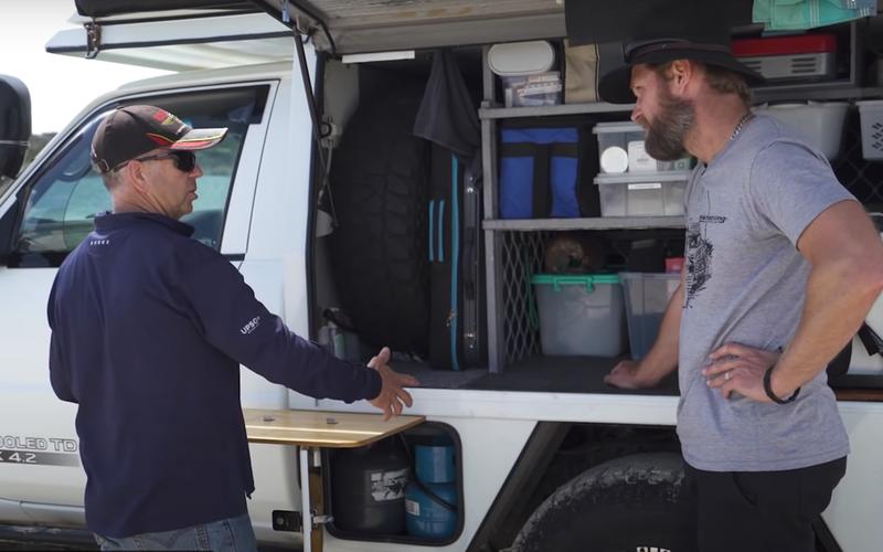Кемпер Nissan Patrol: создан длядикого туризма
